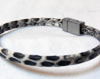 Python Snake Skin Bracelet