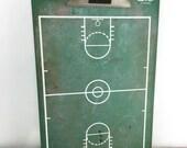 ON SALE Vintage Basketball Play Board and Eraser