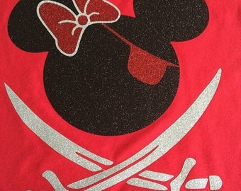 Minnie Mouse pirate