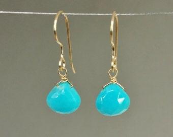 Turquoise Earrings (10mm)