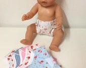 Doll Bibs (Set of Three)