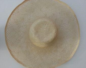 Fancy Sisal Straw Hat Body