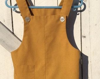 Vintage Yellow Romper
