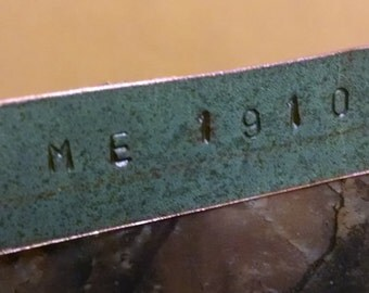 Maine State House Copper Roof Tie Clip - Limited Edition RM