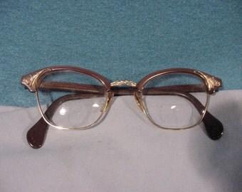 Ladies Eye Glasses Gold Filled Decoration ()22/0 vo|/10-12kGF