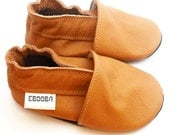 soft sole baby shoes leather infant kids gift brown 2 3 years ebooba 19-5