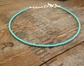seafoam choker necklace beach surfing accessories Summer Holiday jewellery