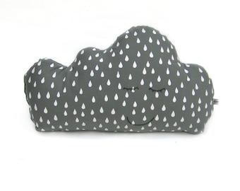 Grey Cuddly cloud cushion