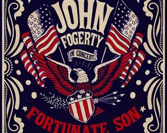 John Fogerty by artist Darren Grealish.