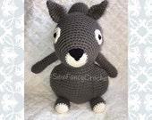 Squirrel, Stuffed Squirrel, Woodland Creature, Woodland Nursery, Woodland Stuffed Animal, Toy Squirrel, Crochet Squirrel, Woodland, Gift