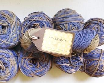 55% Off Araucania Antu Multi Hand Dyed Cotton Yarn Bulky 140 Yards