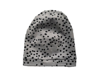 SALE - Organic Baby|Toddler Slouch Beanie || Spotty