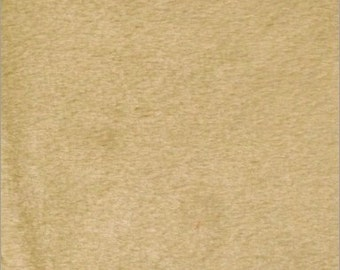 """Solid Velboa Faux Fur Fabric - Camel - Sold By The Yard  - 58""""/60"""" Width"""