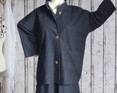 Plus sizes - US 18 - 34, UK 20 - 36 Layered-look fantastic plus size jacket, denim, grey, gray