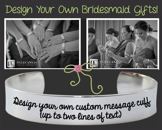 Bridesmaid | Bridesmaid Gift | Design Your Own Bracelet | Bridesmaid Gifts | Maid of Honor Gift | Personalized Gifts | Korena Loves