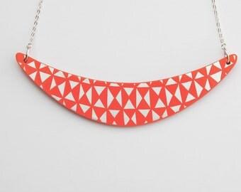 BOOMERANG Necklace Flamingo