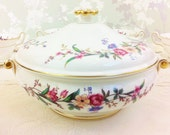 "Lidded  Tureen ""Devon Spray"" Wedgwood. Unused"