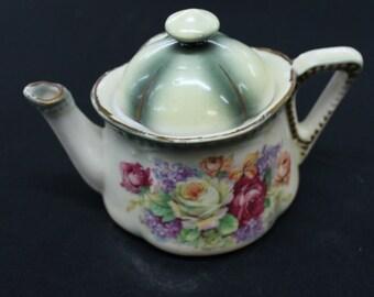vintage one Cup Single serving Teacup Roses