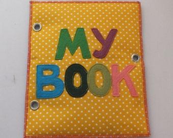 Quet Book-Activity Book-Busy Book-Felt book