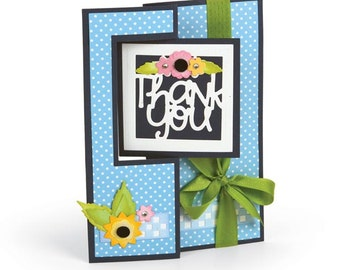 Sizzix - Framelits Plus Die Set 20 Pack - Card - Square Flip-its by Stephanie Barnard