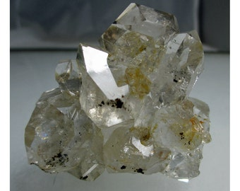 124 gram Herkimer Diamond CRYSTAL CLUSTER - ww704
