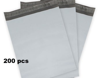 200 Poly Mailers 9x12 Shipping Bags Plastic Envelopes Self Seal 2 Mil for Etsy Shop Supply Packing & Mailing Supplies