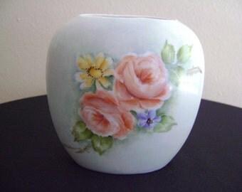 Vintage Porcelain Flower Vase