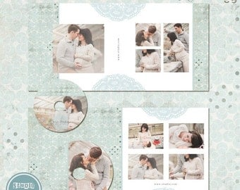ON SALE Cd Dvd  Labels and Covers Templates -  Templates for Photographers - INSTANT Download