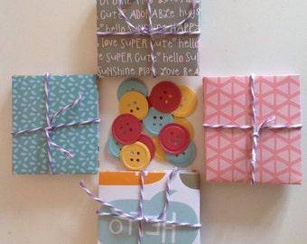 Mini handmade envelope sets