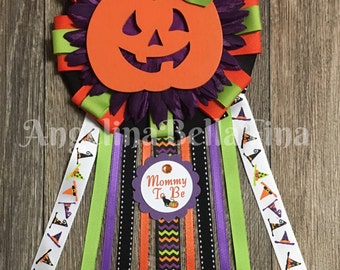 NEW Halloween Mommy To Be Corsage