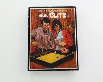 Mini Blitz: A Game of Chance in Solid Hardwood