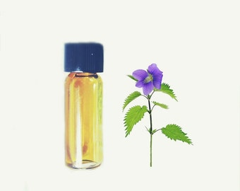 "Summer Perfume, Natural Perfume oil Sample ""Island"" Tropical Fruits and Vanilla Botanical Fragrance"