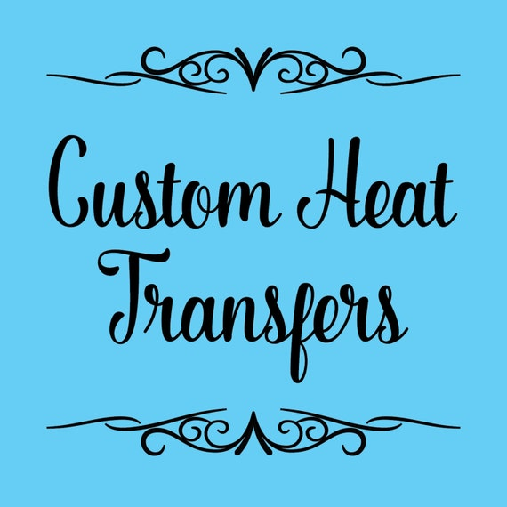 custom heat transfers for t shirts tote bags pillows etc