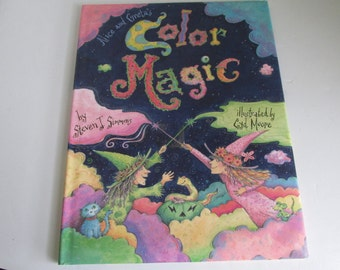 Alice and Greta's Color Magic Book author Steven J Simmons