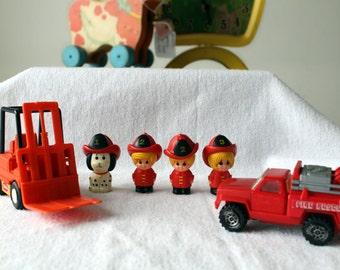 Tonka toys snoopy fure truck