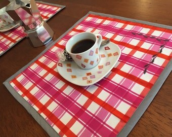 Tea (or coffee) for Two - Reversible Placemat Set