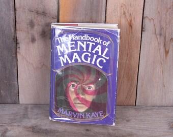 1975 The Handbook of Mental Magic Telepathy Mind Control Illusion
