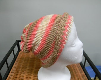 Multicolored Slouchy Hat