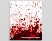 Bloodstain Pattern Analysis Poster Forensics Science Poster Blood Spatter Science Teacher Gifts for Teachers Gifts Science Gifts Scientists