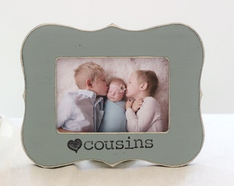 Cousins Picture Frame GIFT Personalized Picture Frame for Cousin Cousins Best Friends