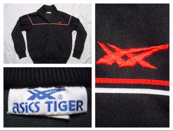 asics tiger jacket