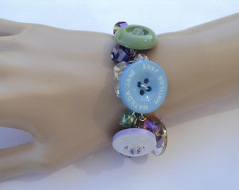 M2M Matilda Jane Spare Button Bracelet -  For Ladies, For Girls, Toddlers, Birthday, Photo Prop