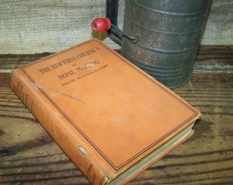 Homemaking Textbook New First Course in Homemaking