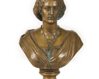 Auguste or Jean Baptiste Clesinger Gilt Bronze Sculpture French 1814-83, 1408SBI24P