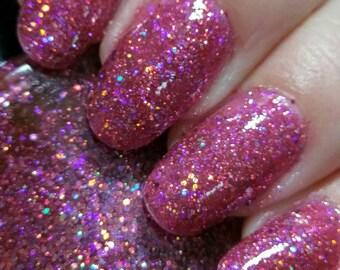 Beach Party hand crafted artisan nail polish