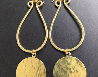 Brass Hoop with Disk