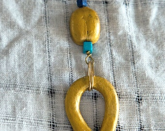 Ankh and Scarab necklace