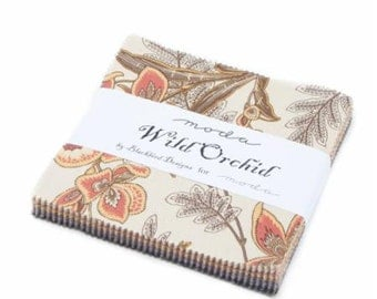 Wild Orchid Charm Pack by Blackbird Designs for Moda