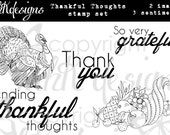 Thankful Thoughts Digital Stamp Set