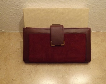Avon Secretary Checkbook Wallet